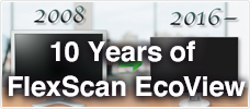 10 Years of FlexScan EcoView