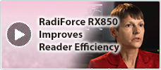RadiForce RX850 Improves Reader Efficiency in Mammography
