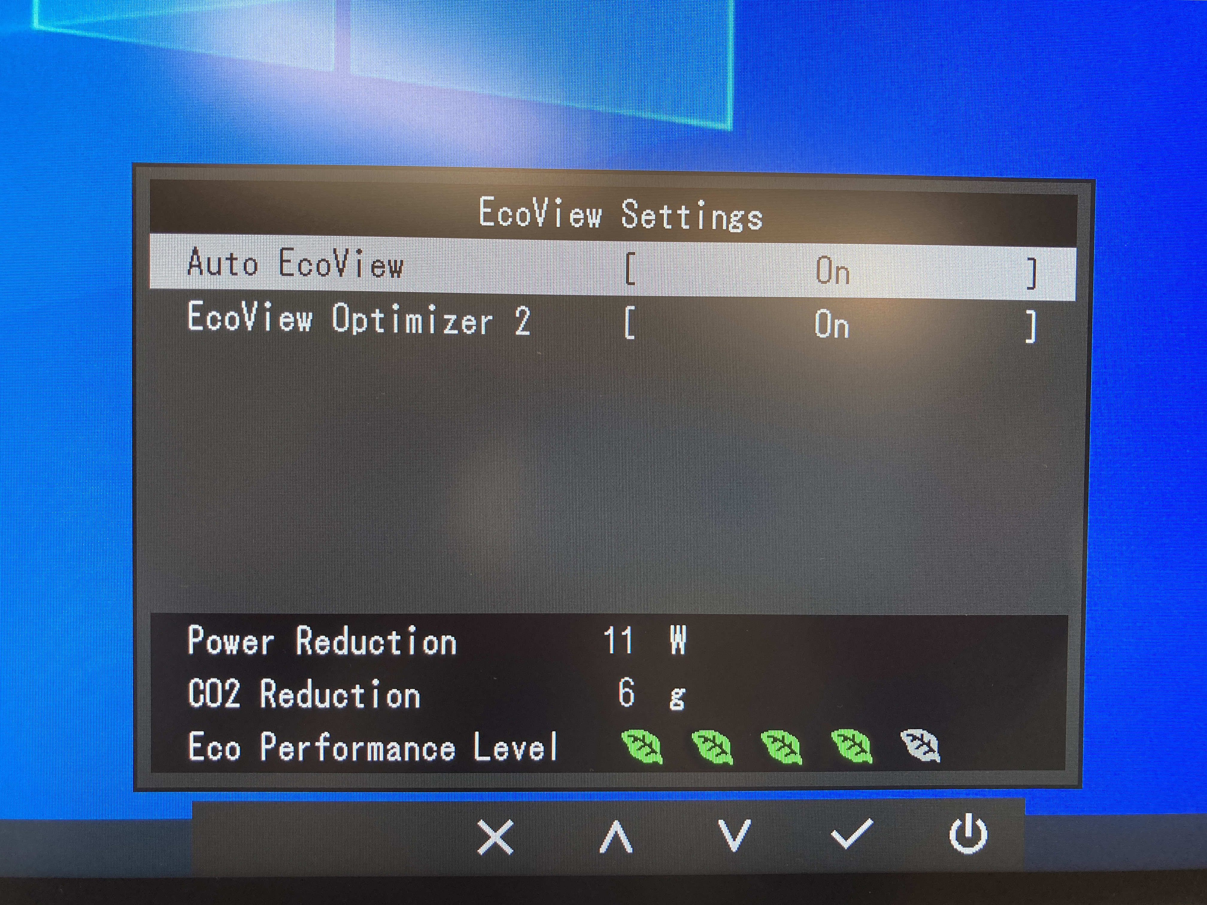Auto EcoView and EcoView Optimizer 2 automatically adjusts the brightness to optimal levels.