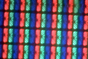 surface of a glare panel