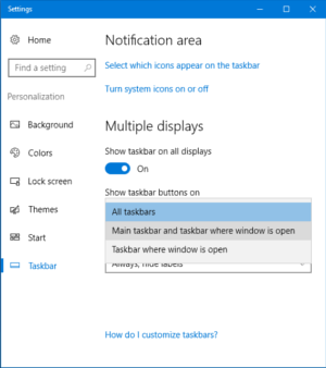 Using the convenient multi display function on windows for Window scroll function