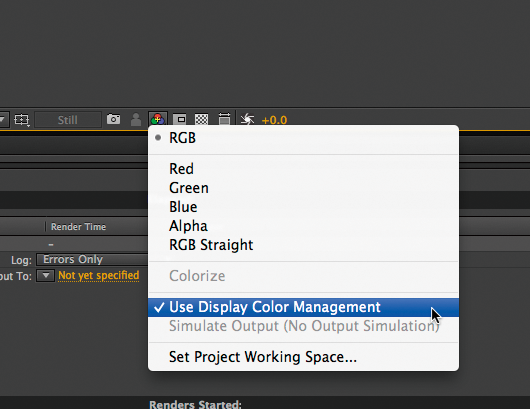 Adobe After Effects   EIZO