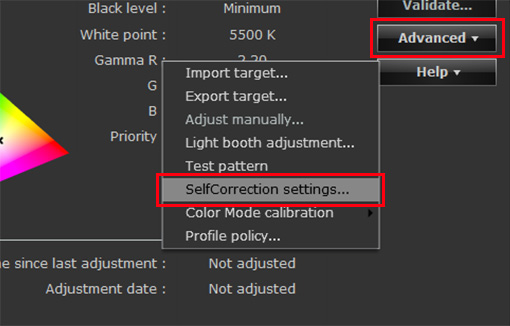 Monitor Adjustment Continued - ColorNavigator | EIZO
