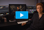 Colorist Isabelle Barrière on ColorEdge CG319X for Post Production