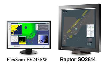 FlexScan EV2436W and Raptor SQ2814