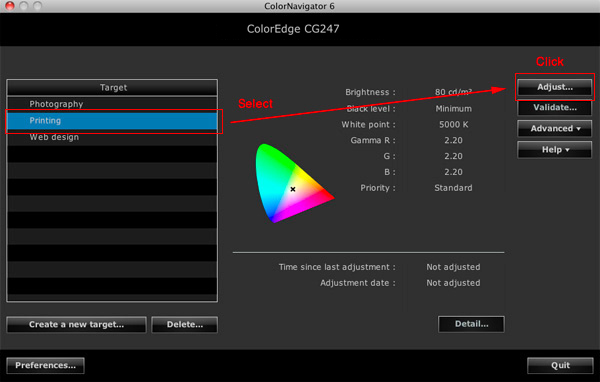 ColorNavigator 6 - Color Management Software | EIZO