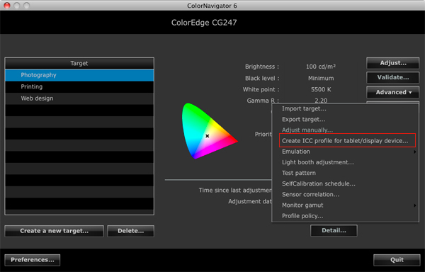 See How Other Devices Display Color with Media Emulation