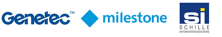 logo Genetec milestone SCHILLE