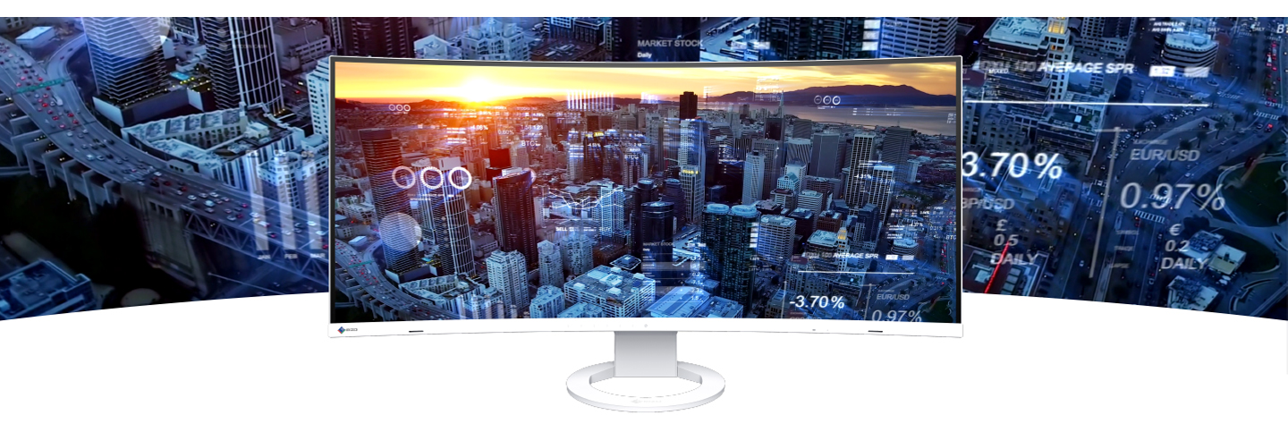 EIZO's First Ultrawide, Curved Monitor