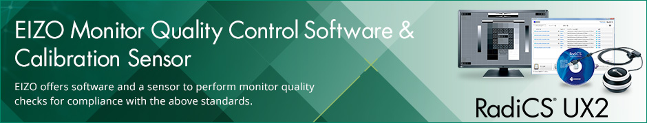 EIZO Monitor Quality Control Software & Calibration Sensor