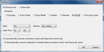 Flexible Schedule Setting