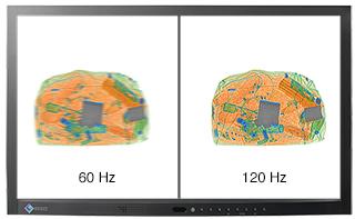 60 Hz vs 120 Hz