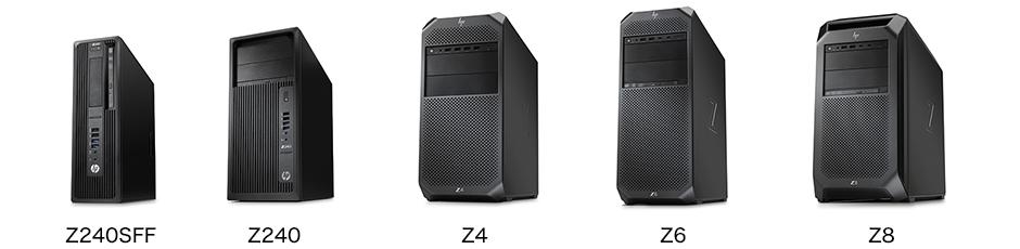Z240SFF, Z240, Z4, Z65, Z8